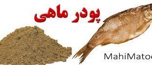 انواع پودر ماهی طبیعی